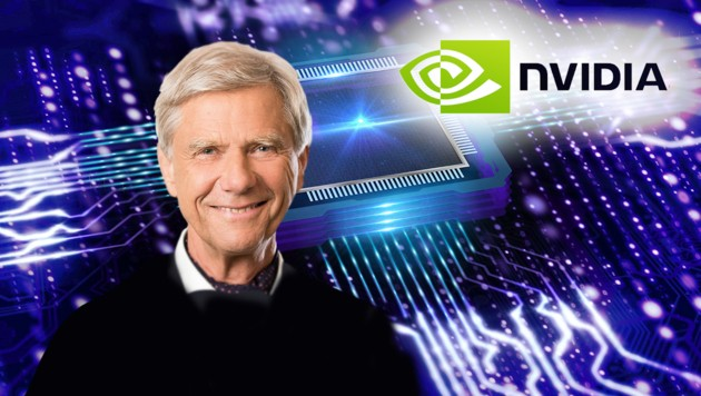 Der in Wien geborene Physiker Hermann Hauser ist einer der Gründer von ARM, heute aber nicht mehr bei dem Unternehmen tätig. (Bild: stock.adobe.com, Nvidia, Amadeus Capital, Krone KREATIV)
