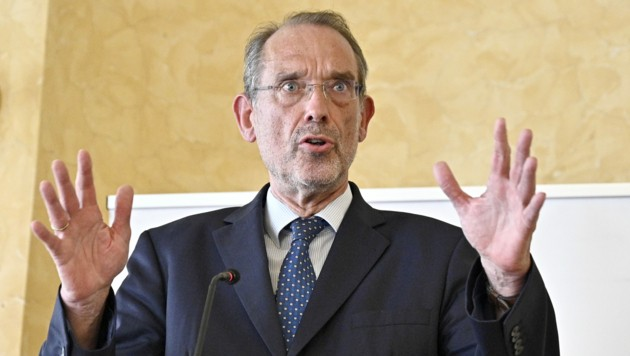 Bildungsminister Heinz Faßmann (ÖVP) (Bild: APA/HANS PUNZ)