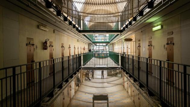 Das Gefängnis in Fresnes, südlich von Paris: Laut einer Umfrage ist die Mehrheit der Franzosen für die Wiedereinführung der Todesstrafe. (Bild: AFP)
