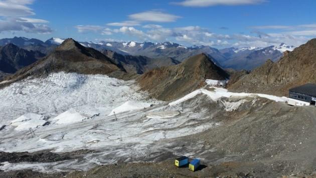 Die Gletscher ziehen sich immer weiter zurück. (Bild: Lawinenwarndienst Tirol)