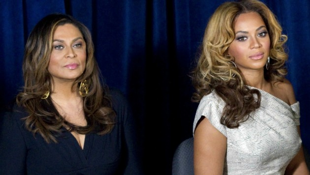 Tina Knowles und Tochter Beyonce