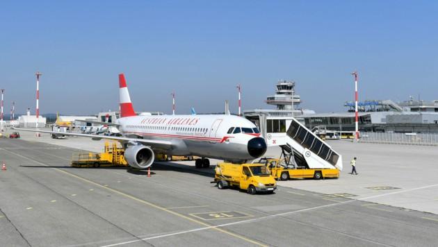 Auch Austrian Airlines hatte für Draskovits keine guten Neuigkeiten (Bild: Harald Dostal)