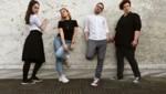 """Linzer Kollektiv """"Das Schauwerk"""" macht Theater für die Bühne und sogar für Instagram. Von links nach rechts: Stefanie Altenhofer, Sarah Baum, Stefan Parzer, Regisseurin Anja Baum. (Bild: Raphaela Danner)"""