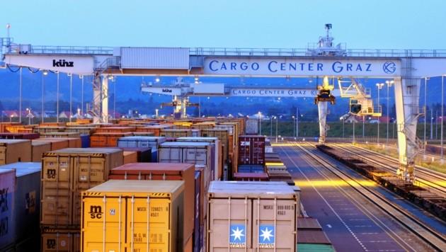 Das Cargo Center südlich von Graz