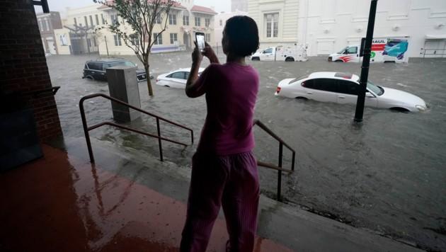"""Der Hurrikan """"Sally"""" sorgte an der US-Golfküste für Überschwemmungen und Stromausfälle. (Bild: AP)"""