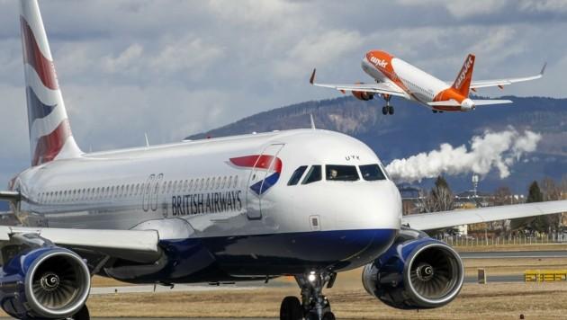 Ein Bild aus besseren Zeit: Der Flughafen verzeichnete seit der Krise ein Umsatz-Minus von 50 Prozent. (Bild: Tschepp Markus)