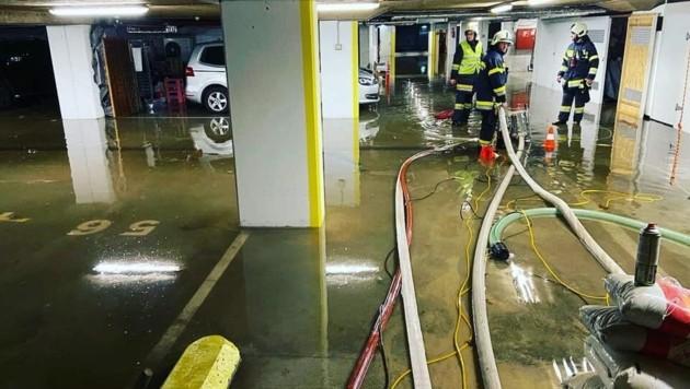 (Bild: Feuerwehr Viktring - Stein / Neudorf)