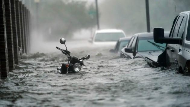 Pensacola wurde stark vom Hurrikan getroffen. (Bild: AP)