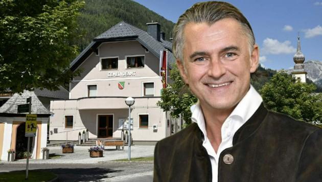 Heribert Lürzer zieht sich als Bürgermeister von Tweng zurück. (Bild: Roland Holitzky)