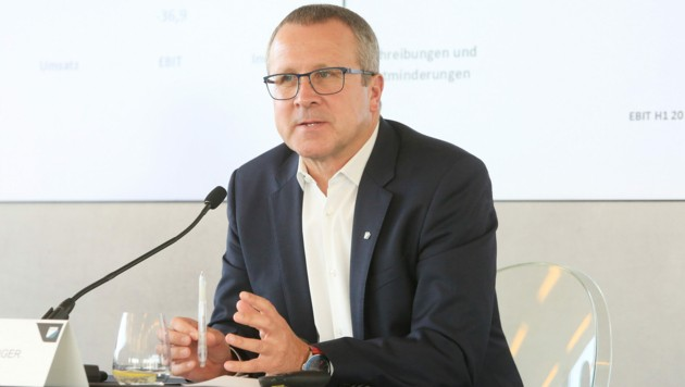 FACC-Vorstandschef Robert Machtlinger (Bild: FACC AG/APA-Fotoservice/Hautzinger)