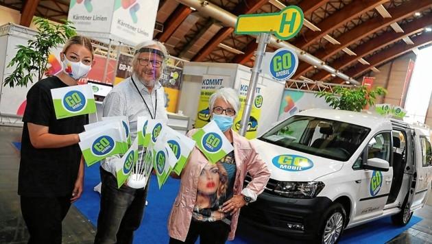 Das Go-Mobil ist in ganz Kärnten unterwegs und abrufbar (gomobil.at). (Bild: Rojsek-Wiedergut Uta)