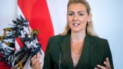 Arbeitsministerin Christine Aschbacher (ÖVP) (Bild: APA/GEORG HOCHMUTH)