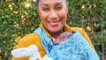 Ana Milva Gomes mit Baby Isabella Rose (Bild: Starpix / picturedesk.com)
