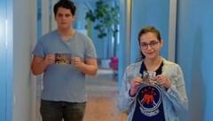 Die Großeltern von Rouven Margules und Amber Weinber konnten vor dem Naziterror fliehen. (Bild: Mauthausen Komitee)
