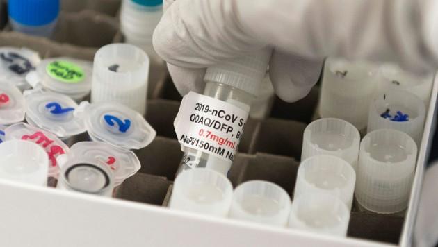Für Novavax reichen Temperaturen von zwei bis acht Grad Celsius. (Bild: AFP)