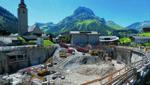 In Lech mit seinem geplanten Gemeindezentrum wird die Stimmung immer düsterer. Sogar von Steinwürfen gegen Immobilien von Nicht-Muxel-Anhängern wird mittlerweile berichtet. (Bild: Mathis Fotografie)