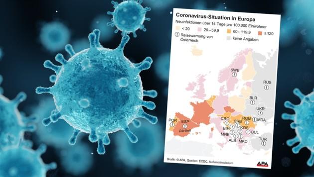 (Bild: Grafik: APA, Foto: stock.adobe.com)