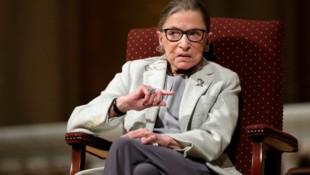 Ruth Bader Ginsburg starb am Freitag im Alter von 87 Jahren an den Folgen einer Krebserkrankung. (Bild: AP)