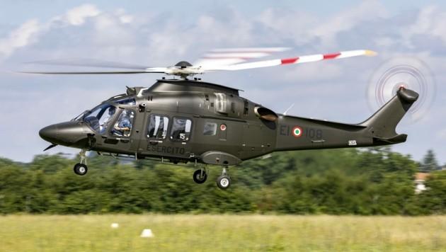 2200 PS, 4,6 Tonnen Gewicht voll beladen, knapp 300 km/h schnell: Der AW169 (Bild: Ministero della Difesa)