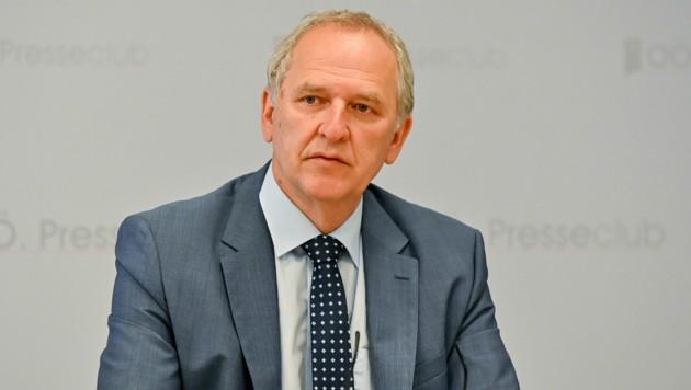 AMS-OÖ-Geschäftsführer Gerhard Straßer (Bild: Harald Dostal)