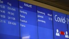 Der Airport verzeichnet in der Krise nur sehr wenige Flüge. (Bild: Tröster Andreas)