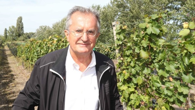 """Nebojša Rodić, der neue Botschafter aus Serbien: """"In dem wunderbaren Burgenland sind die Trauben süßer als anderswo. Die Rotweine hier sind fantastisch."""" (Bild: Judt Reinhard)"""
