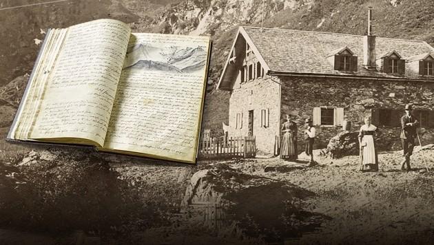 (Bild: APA/Alpenverein-Museum/Archiv/Würthle & Spinnhirn, Österreichischer Alpenverin/West. Fotostudio, Krone KREATIV)