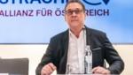 Heinz-Christian Strache sagte am Sonntag, dass er der Öffnung seiner Konten gelassen entgegensehe. (Bild: APA/GEORG HOCHMUTH)