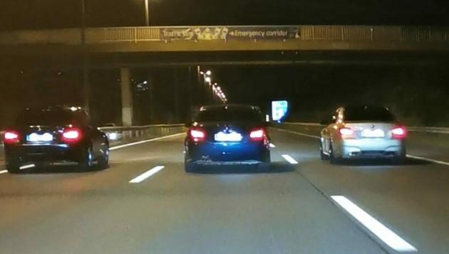 """Illegale Straßenrennen werden in Zukunft als """"besonders gefährliche Delikte"""" eingestuft. (Bild: APA/LPD Wien)"""