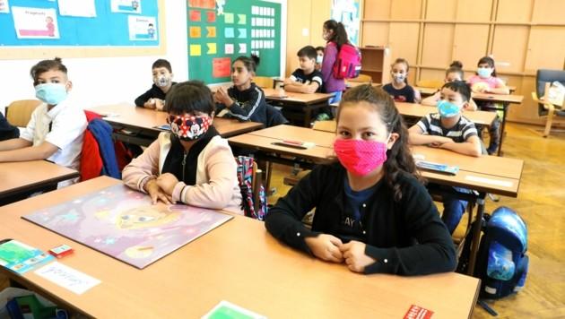 Ab Unterstufe: Masken im Unterricht