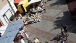 Der Wochenmarkt in der Fußgängerzone von Eisenstadt (Bild: Schulter Christian)