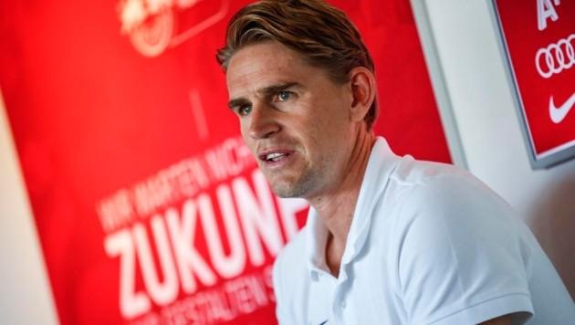 Christoph Freund ist auch diesmal von seiner Mannschaft überzeugt. (Bild: GEPA)