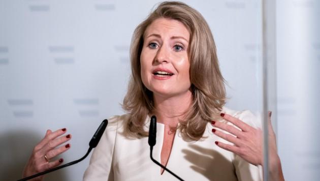 Integrationsministerin Susanne Raab (ÖVP) (Bild: APA/Georg Hochmuth)