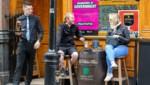 In Dublin dürfen in den kommenden drei Wochen nur Pubs öffnen, die Essen auf einer Terrasse servieren oder zum Mitnehmen anbieten. (Bild: AFP)