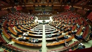 Das italienische Parlament (Bild: APA/AFP/Palazzo Chigi press office/Handout)
