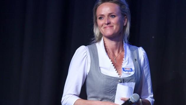 Saalbach-botschafterin: Ex-Ski-Ass Alexandra Meissnitzer. (Bild: Erich Spiess)