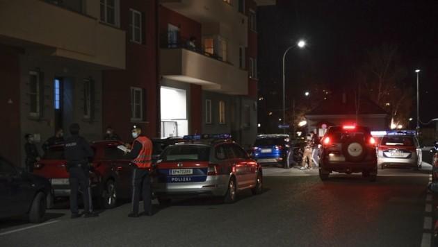 Der Tatort in Innsbruck (Bild: Zeitungsfoto.at)