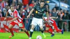 Danijel Prskalo (v., Weiz) hat im Cup den Aufstieg im Visier. (Bild: Richard Purgstaller)