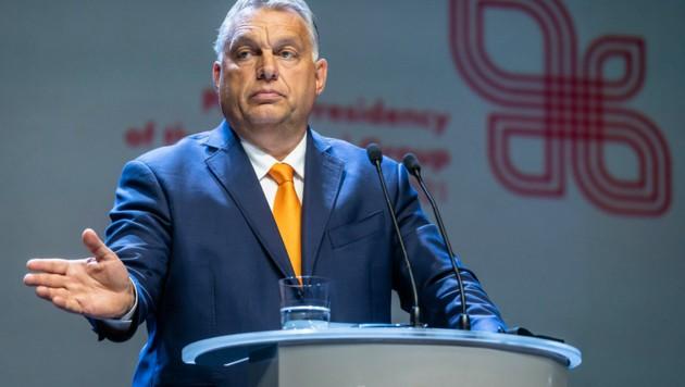 Viktor Orban (Bild: APA/AFP/Wojtek RADWANSKI)