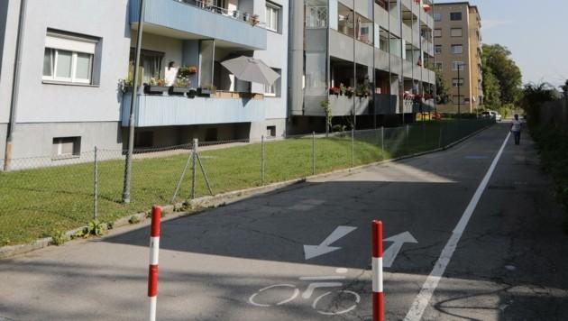 Schauplatz der Szenen war die Hegnerstraße in der Innsbrucker Reichenau. (Bild: Birbaumer Christof)