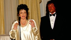 Jackie Stallone und Sylvester Stallone (Bild: www.PPS.at)