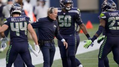 Seattle-Coach Pete Carroll (Bild: AP)