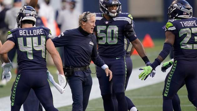 Seattle-Coach Pete Carroll (Bild: AP)