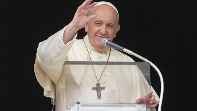 Papst Franziskus am 20. September 2020 (Bild: AP/Andrew Medichini)