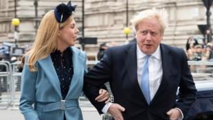Der britische Premierminister Boris Johnson mit seiner Lebensgefährtin Carrie Symonds (Bild: www.pps.at)