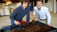 Ecofly-Günder: Michael Forster (links), Simon Weinberger (Bild: HERMANN WAKOLBINGER)