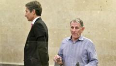"""Für den Hauptangeklagten Karl-Heinz Grasser ist der teils geständige Ex-Lobbyist ein """"Lügner"""". (Bild: APA/HANS PUNZ)"""