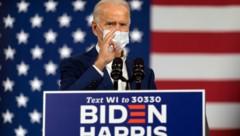 Biden möchte den Handelskonflikt mit der EU beenden, sollte er die Präsidentschaftswahl im November für sich entscheiden. (Bild: AP)