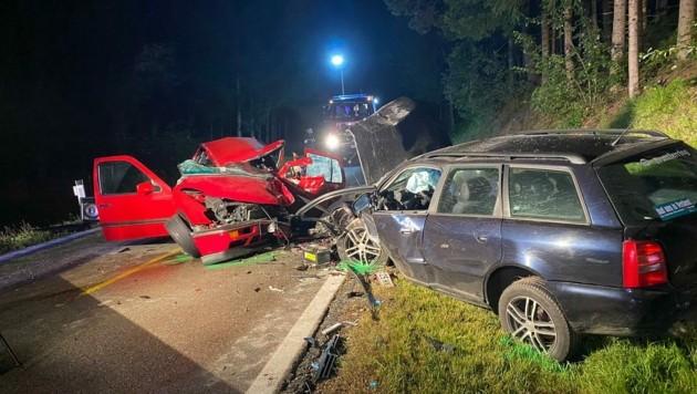 An den Fahrzeugen entstand erheblicher Sachschaden. (Bild: zVg)