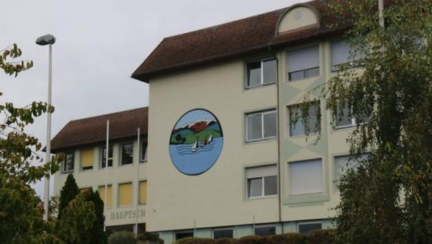 Die betroffene Klasse der Musikmittelschule Seeboden wurde gesperrt. (Bild: zVg)